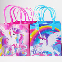 Magical Unicorn Birthday Party Bags Treat Boxes Goody Candy Bags Filler LootGift