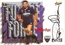 2001 SELECT NRL FUTURE FORCE SIGNATURE #FF7: TONY PULETUA /675 PENRITH PANTHERS