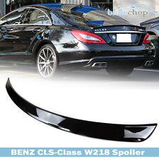 Painted Mercedes Benz CLS W218 4D Sedan A Type Spoiler Trunk Boot 197 Black