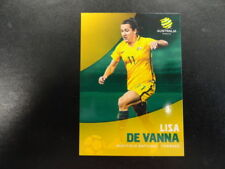 2017/18 TAP'N'PLAY A-LEAGUE CARD NO.028 LISA DE VANNA WESTFIELD MATILDAS