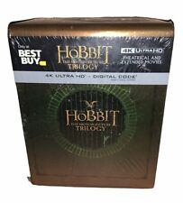 The Hobbit - The Motion Picture Trilogy - Steelbook Set - 4K UHD Brand New