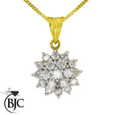 Collares y colgantes de joyería con diamantes naturales SI2