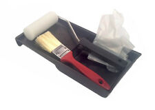 5 Piece Paint Kit - Set Includes Brush, Tray, Gloves, Foam Roller and Handle