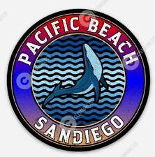 San Diego Pacific Beach STICKER - California Surfing Pacific Ocean Surf