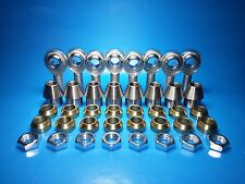 5/8 x 1/2  4-Link Rod End Kit,  w/ Cone Spacers, Heim Joints  (Bung 1-1/4 x.120}