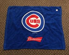 (L@K) Budweiser Beer Chicago Cubs Baseball Rally Bar Pub Towel Game Room New