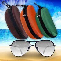 Tragbare Reise Sonnenbrillen Brillenetui Protector Zipper Bag Box Stylisch eoHpr
