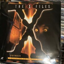The X Files : Squeeze / Tooms  - LASERDISC  spine split on cover