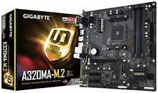 Gigabyte AMD Am4 A320 M.2 D4 M-atx Gaming Motherboard Black |