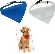 Collar con Pañuelo para Masctoas perros 14 x 20 cm, ajustable, cierre de clic
