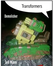 Transformers Demolisher Cybertron Decepticon 2006