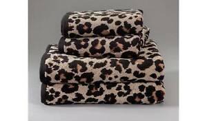 Argos Home Leopard Print 4 Piece Towel Bale