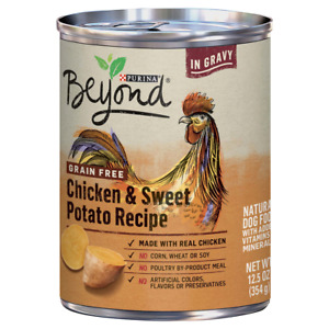 Purina Beyond Grain Free Dog Food Chicken & Sweet Potato Recipe (6-12.5 Cans)