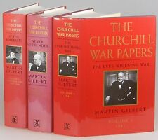 Martin Gilbert, Winston S. Churchill, The War Papers, first British editions