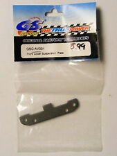GS RACING #GS-AV031 FRONT LOWER SUSPENSION PLATE-  GS AVENGER BUGGY