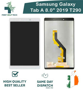 """Samsung Galaxy Tab A 8.0"""" 2019 T290 LCD Touch Screen Digitizer Replacement White"""