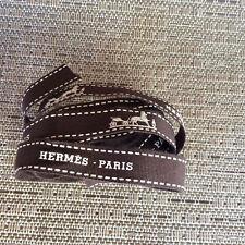 """2 Hermès Ribbons, 35 + 59"""""""
