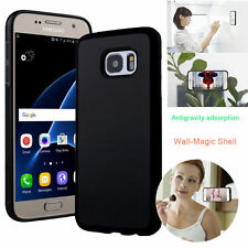Anti Gravity Nano Suction Sticky Selfie Phone Case Cover For iPhone/Samsung