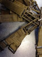 WW2 1937 Pair of Brace attachments. Wartime dated good used. Tommy. British Army