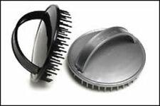 Denman D6 Be-Bop Scalp Massage Brush - Silver or Black