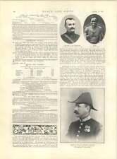 1897 Frederick Tempio NUOVO Primate Maj Copland Crawford NIGER COSTA NANA Benin
