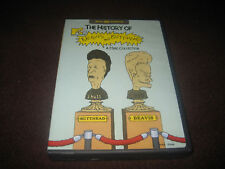 MTV HISTORY OF BEAVIS AND BUTT-HEAD DVD 2 DISCS SET AUTHENTIC DVD