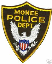 MONEE POLICE  PATCH