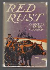 RED RUST Cornelia James Cannon  VGHBDJ 1928