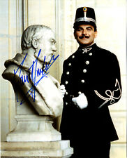 David Suchet - English Actor as Hercule Poirot - In Person Signed Photograph.