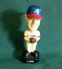 "© 2002 Fotoball® ""Braves 10 C. Jones"" MLB Baseball Booblehead"