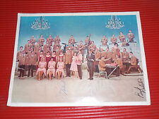 VINTAGE LAWRENCE WELK PROGRAM SIGNED BY HIM AND 8 BAND MEMBERS