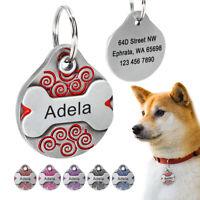 Personalisierte Erkennungsmarken GRAVUR Hundemarken Adressanhänger Tiermarken