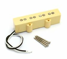 Cream Alnico 5 Vintage Style Neck Pickup for Fender Jazz J Bass® PU-JBA-NC