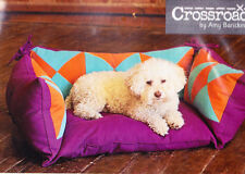 PATTERN - Pieced Pet Pillows - fun bedding PATTERN for your pet- Indygo Junction