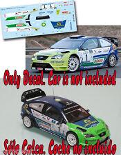 C027 Decal 1:43 Alfonso Viera - FORD FOCUS WRC - Rally Maspalomas 2009 Winner