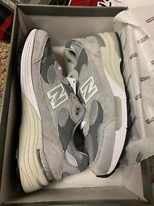NEW BALANCE 992 OG Grey Made in USA NB Brand New (M992GR)