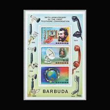 Barbuda, Sc #262a, MNH, 1977, S/S, Telephone, Communications, CL136F