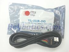 FTDI Chip TTL-232R-3V3 USB to TTL Serial Cable 3.3V - 1.8m