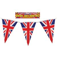 British Union Jack Uk Triangle Bunting Flags Great Britain GB Party Sports 7M