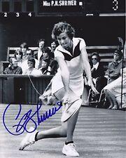 Tennis Pro Pam Shriver Autographed 8x10 Photo (Reproduction)