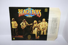 "1977  The Beach Boys ‎– Live In London  - 12"" Vintage Vinyl Record"