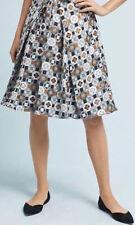 ANTHROPOLOGIE NWT Eva Franco Geo Jacquard Skirt Metallic Sz 0 XS $168