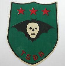 original vietnam american war  vintage printed  special recon TSDB patch