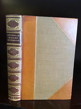 THE LETTERS OF MADAME DE REMUSAT - 1881 - fine leather binding - Napoleonic