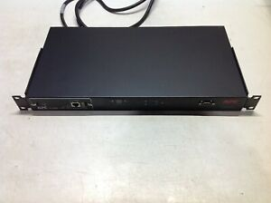 APC AP7750 Automatic Transfer Switch 120V 12A w/ AP9617 Network Management Card