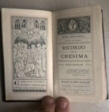 RICORDO DELLA CRESIMA MONS. MOLA FOGGIA 1901
