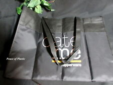 Brand New Tupperware Consultant Award Logo Date Me Black Catalog Party Tote Bag