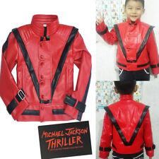 MICHAEL JACKSON Thriller For Children Kids Jacket MJ Costumes Gift Birthday