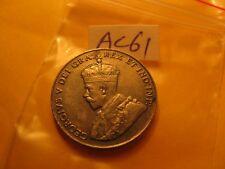 1927 HIGH GRADE CANADA 5 CENT COIN ID#AC61