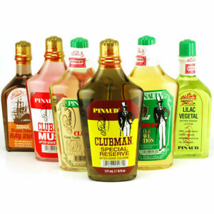 CLUBMAN PINAUD AFTER SHAVE All Scents (SELECT SCENT)
